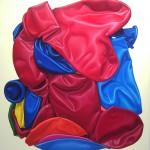 2 Tütenpartymix 2, Öl auf Leinwand, 205 x 190 cm, 2008