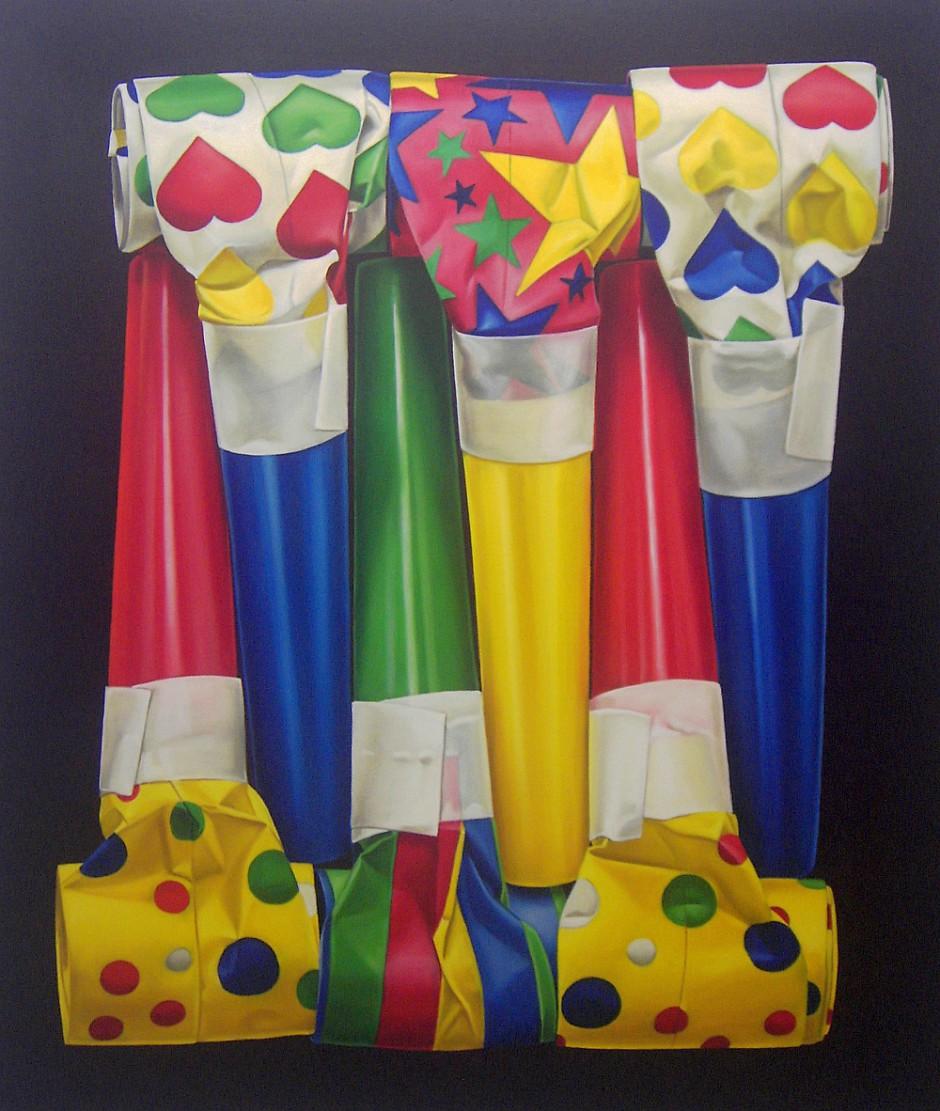 Fiesta, Öl auf Leinwand, 115 x 95 cm, 2011
