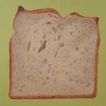 Weßbrot, Öl auf Leinwand, 30 x 40, 2006