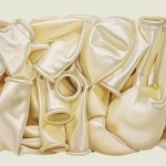 Hochzeitluftballons, Öl auf Leinen, 113 x 143 cm, 2015