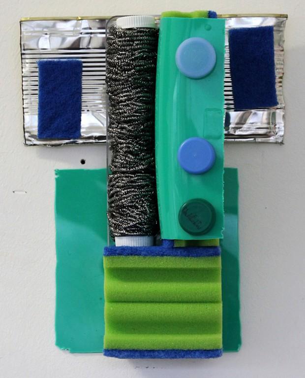 Induktor, mixed media, 30 x 23 x 12 cm, 2016