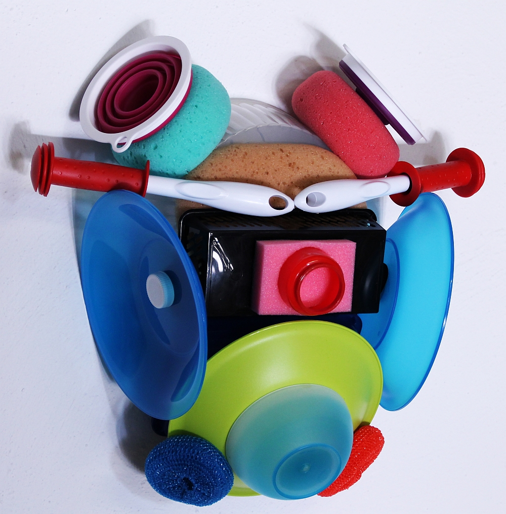 Masque, mixed media, 58 x 41 x 25 cm, 2016