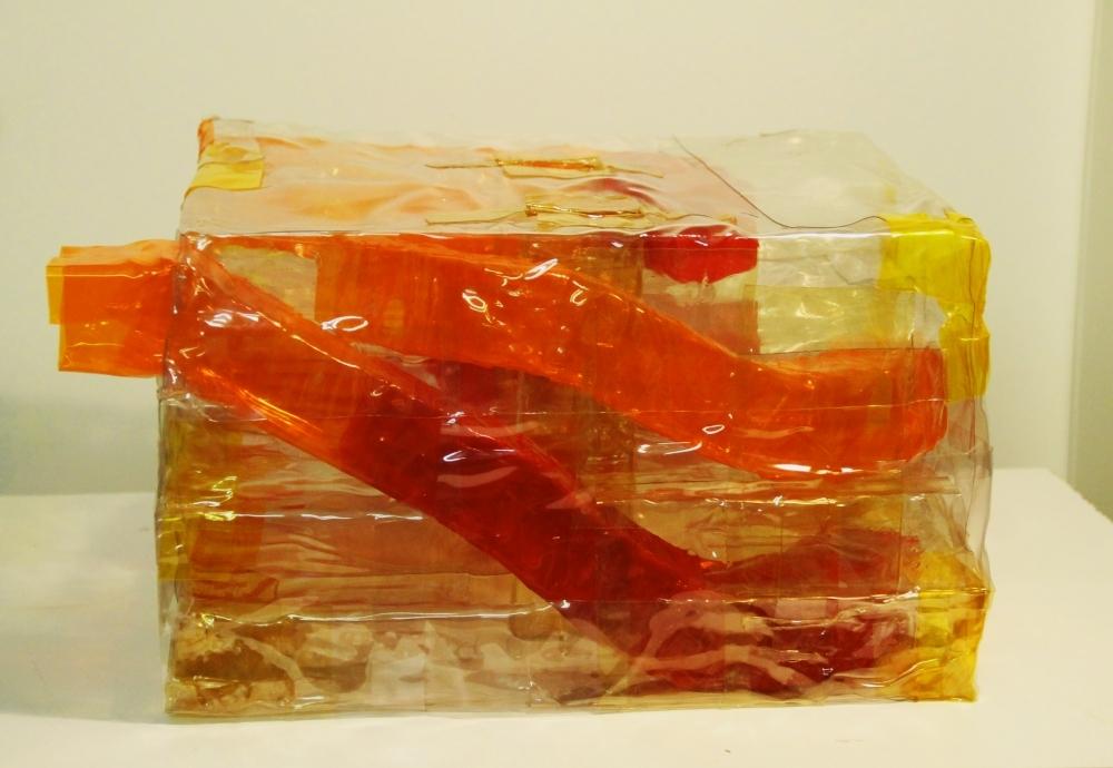 Parkhaus, PVC, 19 x 33 x 30 cm, 2008