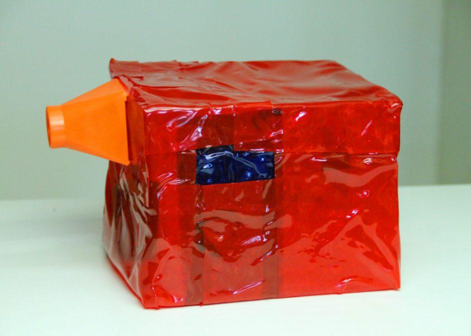 Peepshow, PVC, Dia-Look, 15 x 18 x 15 cm, 2009
